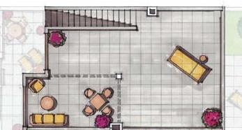 Plano de planta para Apartamento ref 3564 para sale en Condado De Alhama España - Quality Homes Costa Cálida