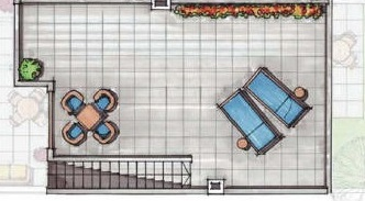 Floor plan for Apartment ref 3586 for sale in Condado De Alhama Spain - Quality Homes Costa Cálida